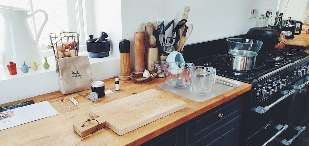Set up for online craft course