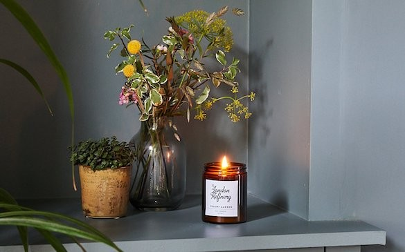 London Refinery soy wax candle