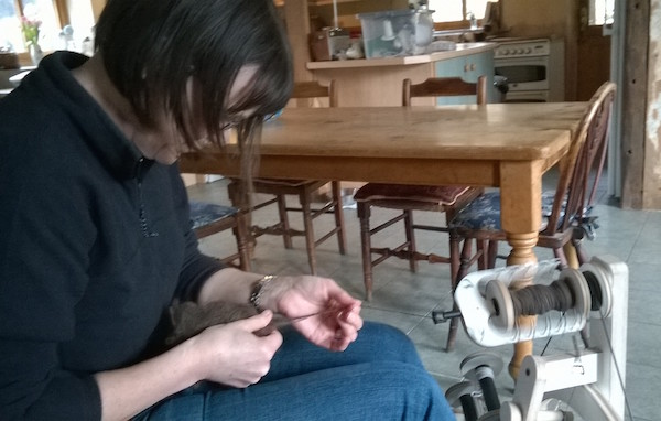 Hand spinning - a revival of interest in this ancient textile craft
