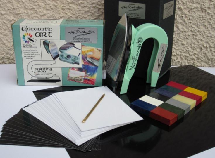 Encaustic art starter kit