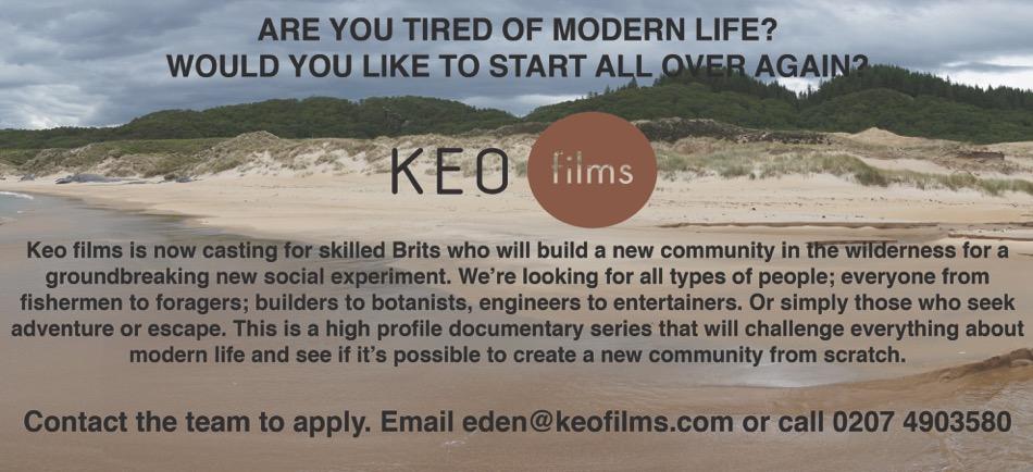 Film company seeks craftspeople
