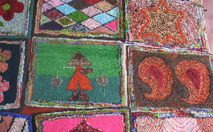 Selection of Rag Rugs